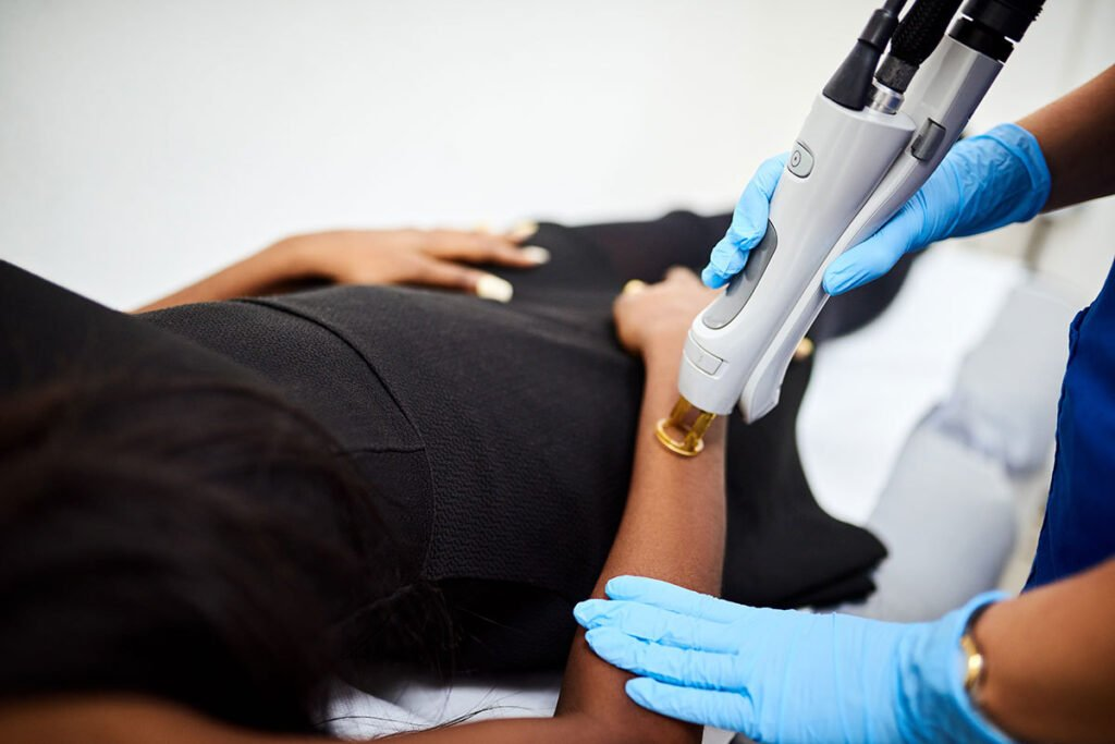 choose a skilled provider who specializes in lasers for medium and dark skin tones